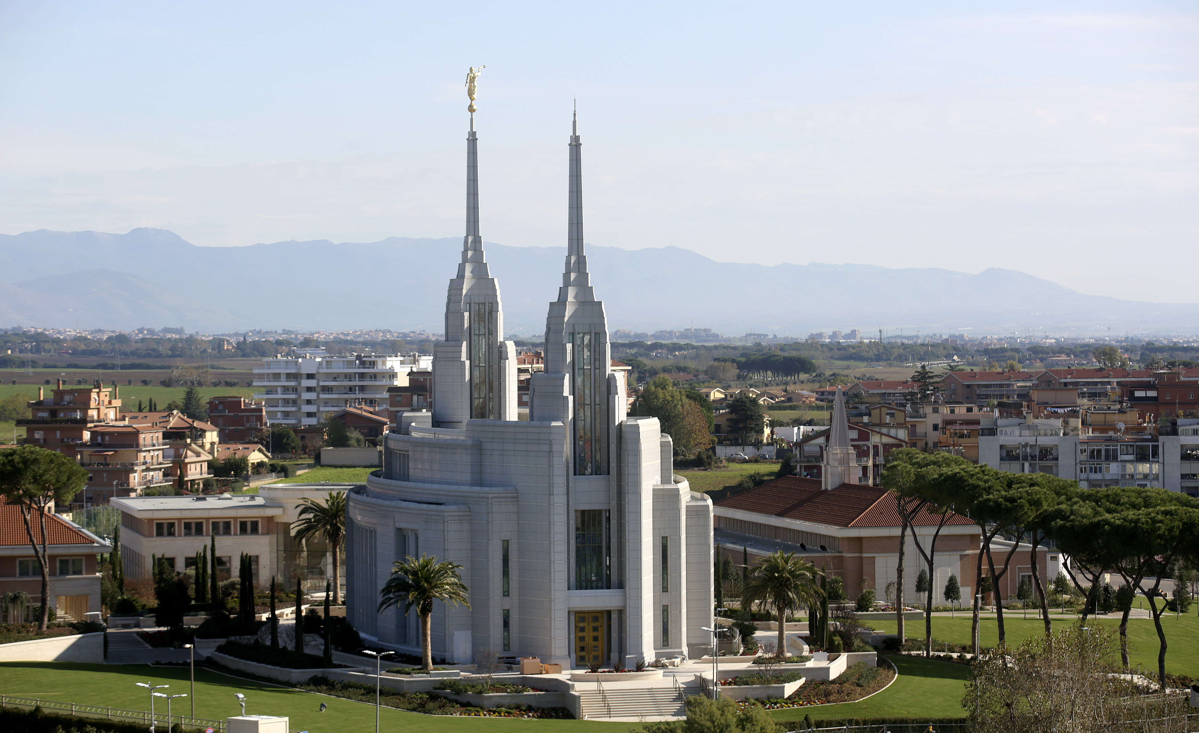 Rome Temple in Rome, Italy, on Sunday, Nov. 18, 2018.
