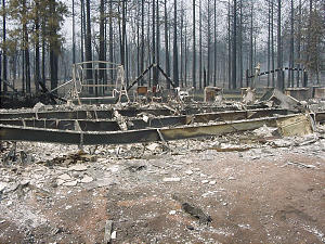 Fires blazing in eastern Arizona have destroyed at least 60 member homes, including the home of Jerry and Barbara LeCompte of the Pinedale Ward, Show Low Arizona Stake.