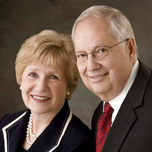 Christine and Bruce L. Olsen