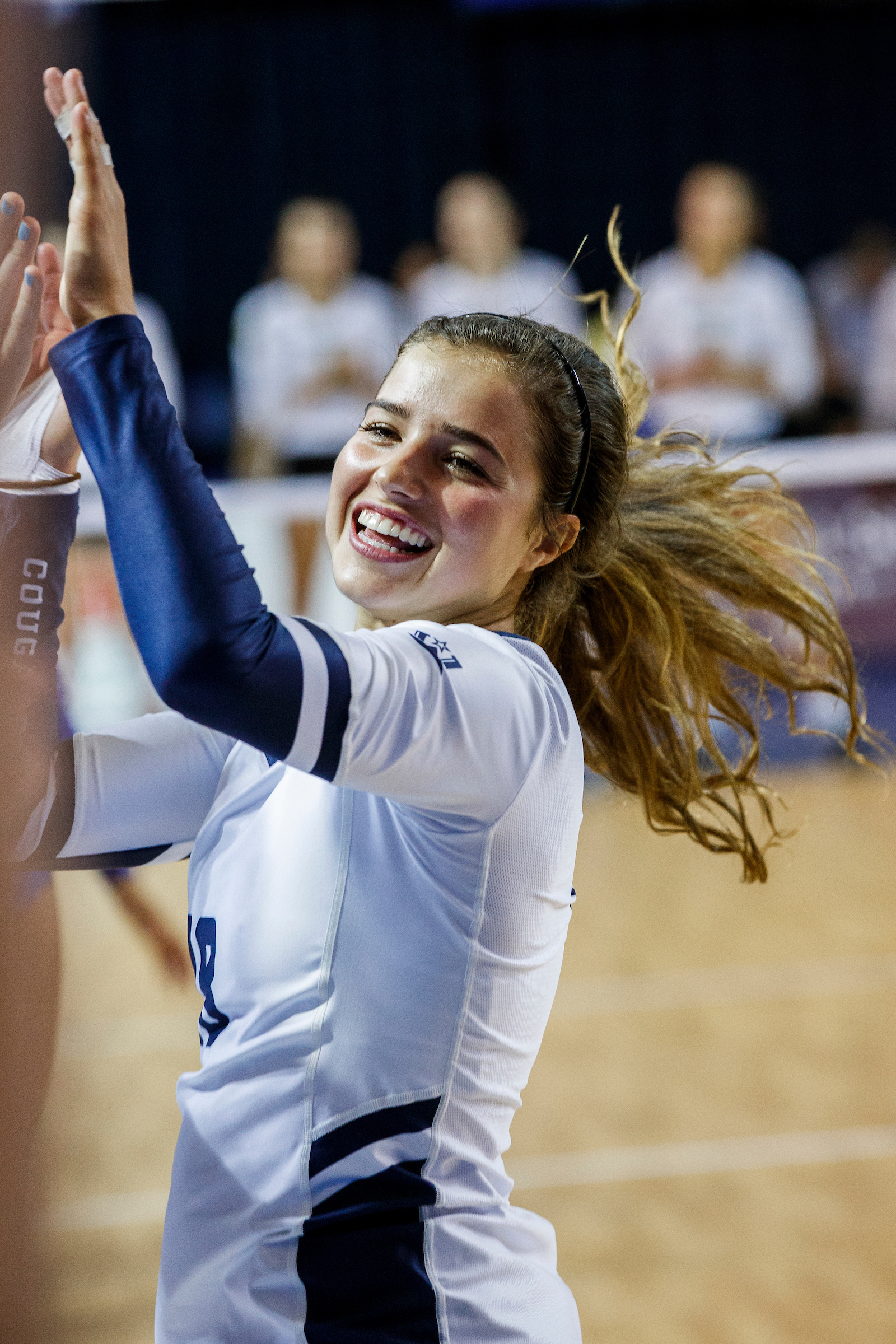 BYU libero Mary Lake has been a key player on BYU's women's volleyball team and, in recent month, the U.S. Women's National Team.