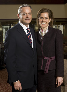 Elder Patrick Kearon and his wife, Sister Jennifer Hulme Kearon, met in England while she was a BYU student on study abroad and he a recent convert.