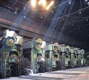 Silenced steel mill suggests the demise of Utah's Geneva Steel Works in photo exhibit.