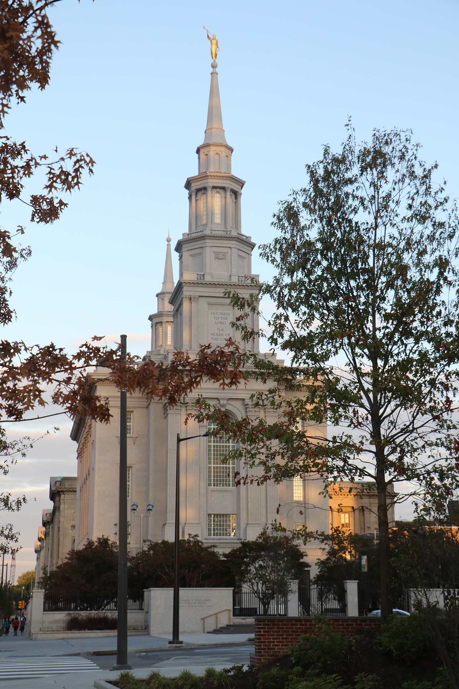 President Henry B. Eyring, first counselor in the First Presidency of The Church of Jesus Christ of Latter-day Saints, dedicated the Philadelphia Pennsylvania Temple on Sunday, Sept. 18, 2016.