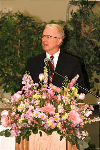 Elder Dougland F. Higham of the Seventy presided at the event.