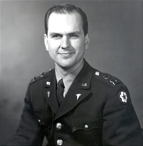 Capt. Russell M. Nelson served at the Walter Reed Army Medical Center in Washington, D.C., in early 1953.