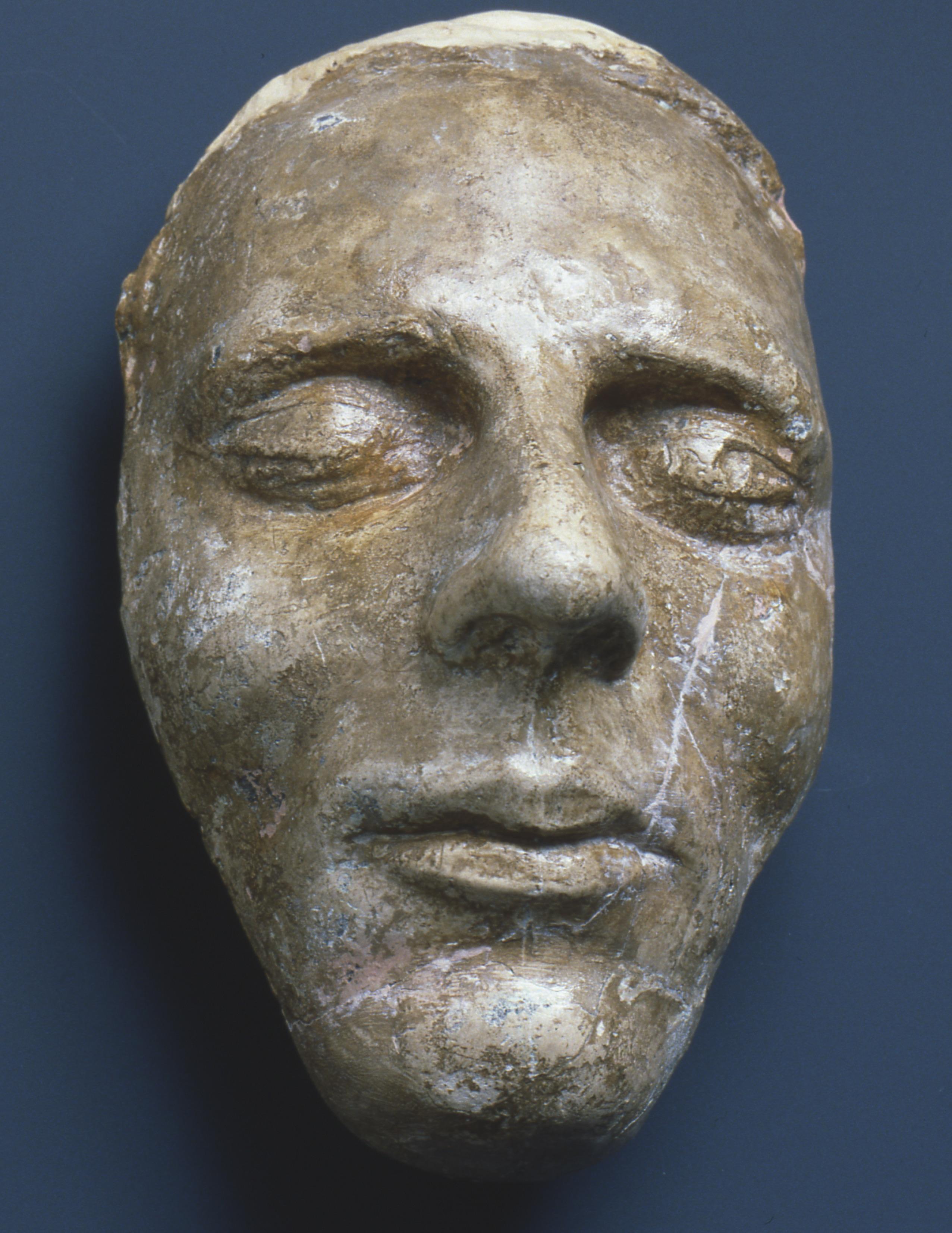 The Dibble death mask of Joseph Smith Jr.