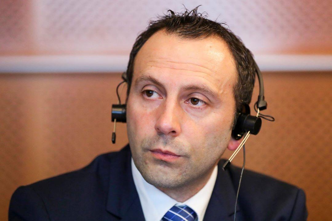 Mr. Francesco Di Lillo, director of the European Union Office of The Church of Jesus Christ of Latter-day Saints. European Union 2018.