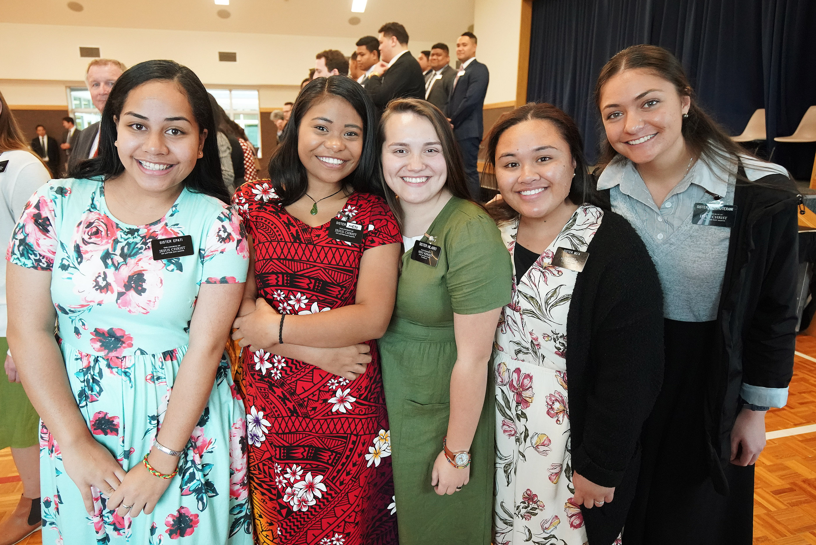 Missionaries in Auckland, New Zealand, on Tuesday, May 21, 2019.