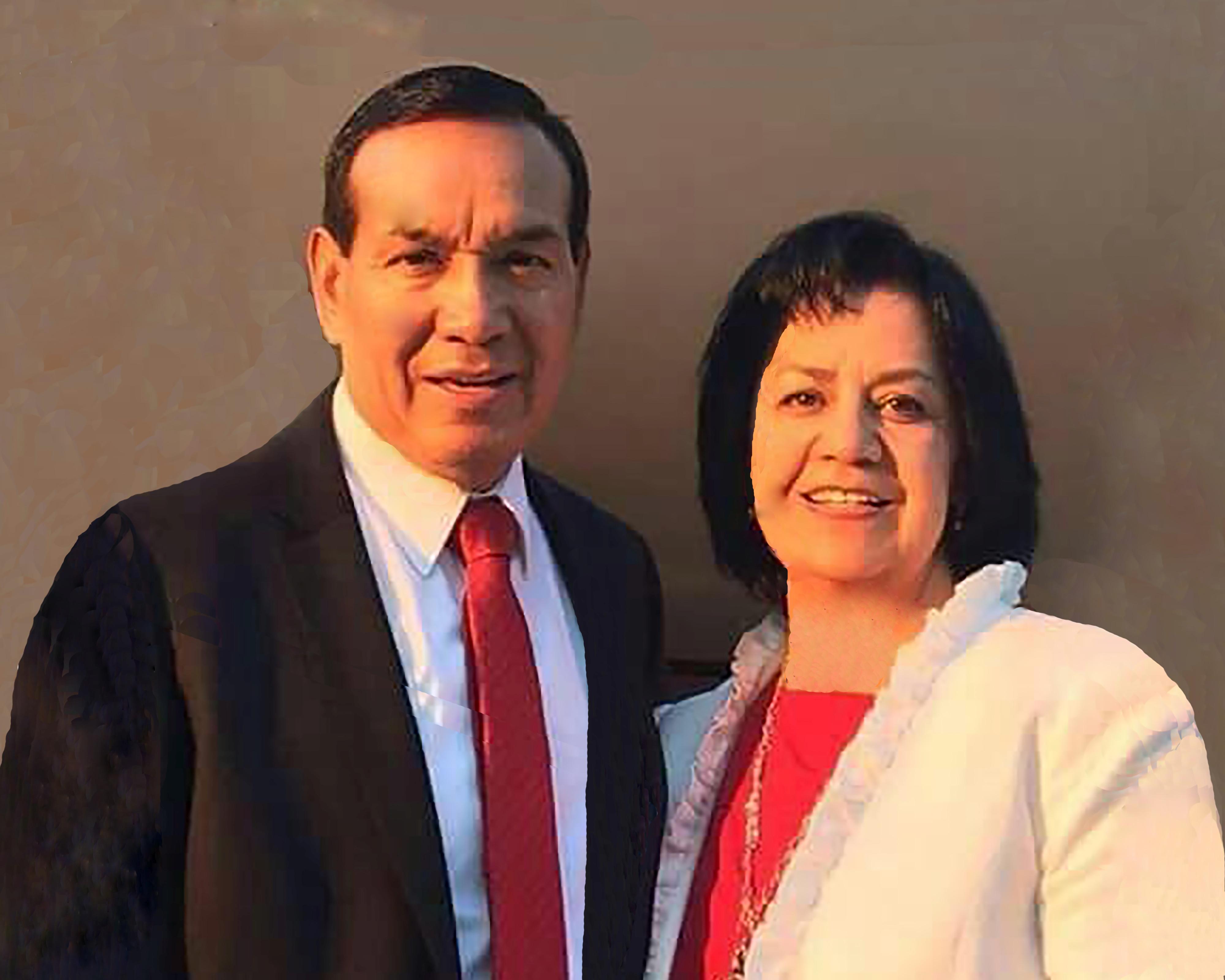 Abraham and Virginia M. Martínez