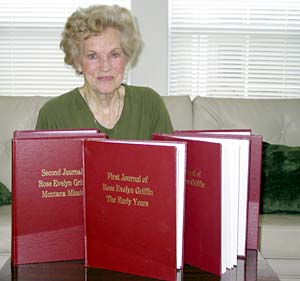 Rose Evelyn Griffin's journals contain the written record of her life of missionary work ever since she and her husband were converted in 1964. She has served outside the United States twice.