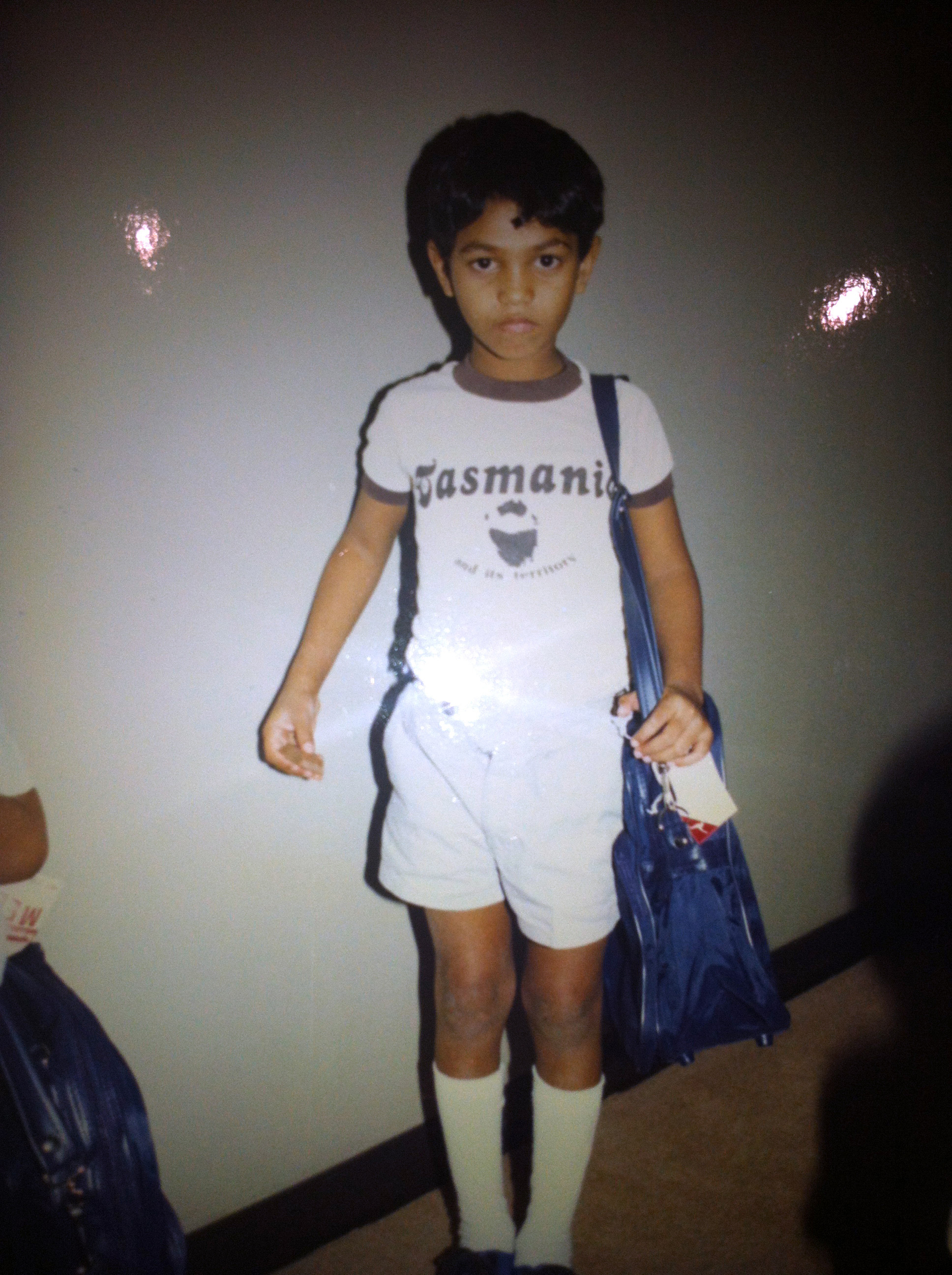 This undated photo provided by Saroo Brierley shows him as a young boy in Australia. In February 2012, Brierley, 30, reunited with his biological mother, Fatima Munshi, in Khandwa, India, 25 years after an ill-fated train ride left him an orphan on the streets of Calcutta. Brierley will appear at this year's RootsTech, scheduled for Feb. 27-March 2 at the Salt Palace Convention Center.