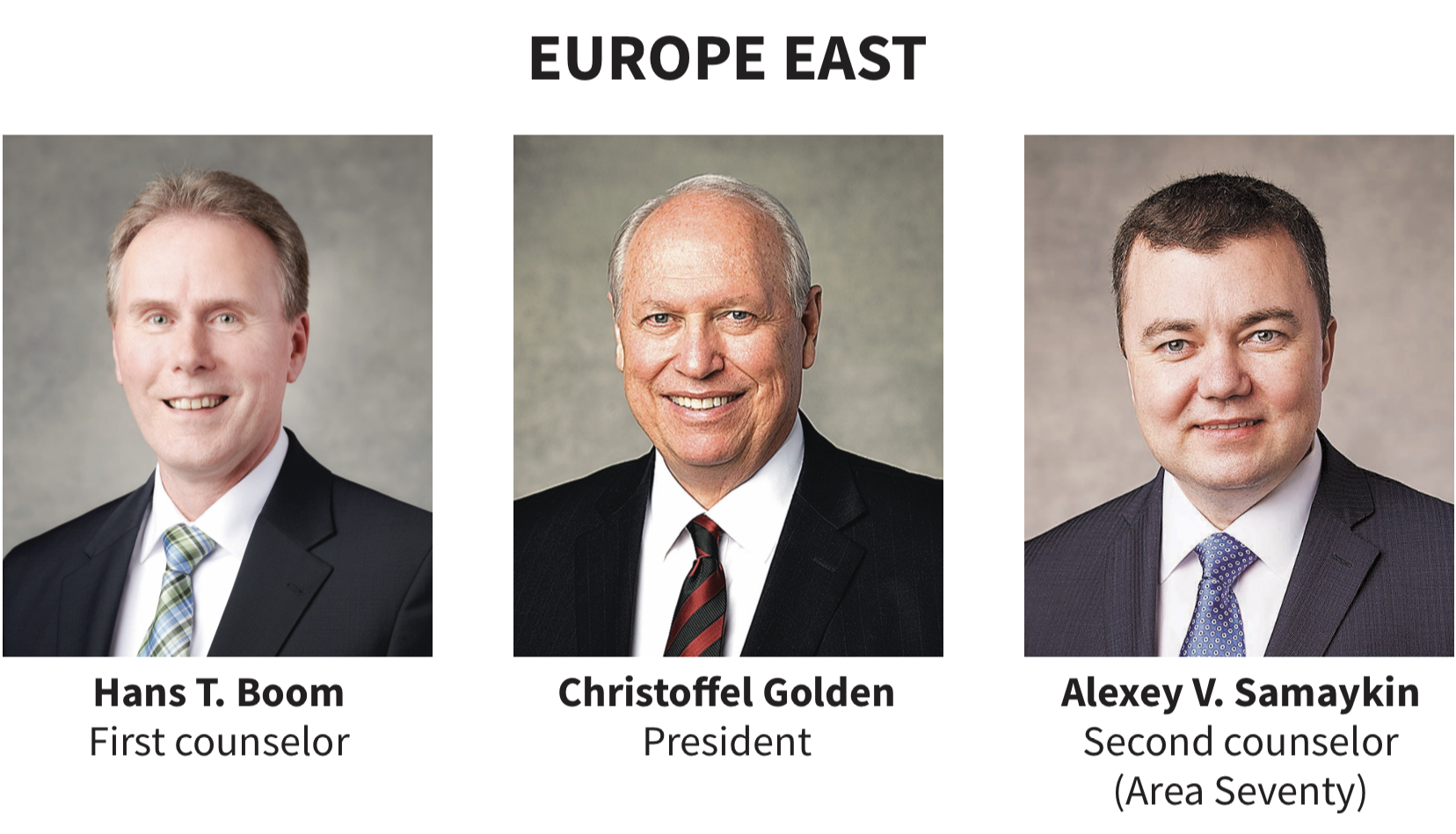Europe East area presidency