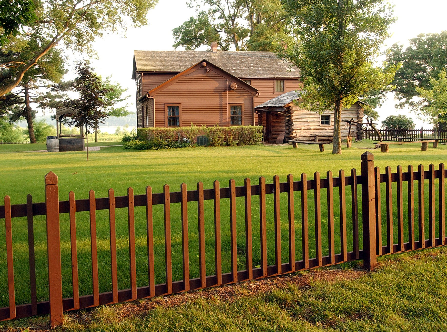The Joseph Smith homestead June 2002.