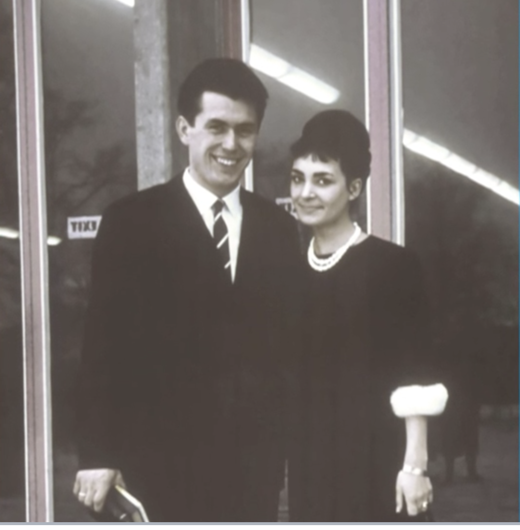 Elder Dieter F. Uchtdorf and his wife, Sister Harriet R. Uchtdorf, as a young couple in Germany.