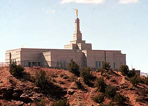 Perched on a cedar-covered butte rising above the Snowflake/Taylor area is the new Snowflake Arizona Temple.