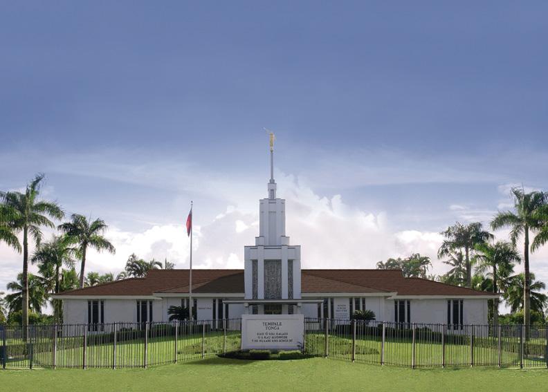 The Nuku'alofa Tonga Temple.