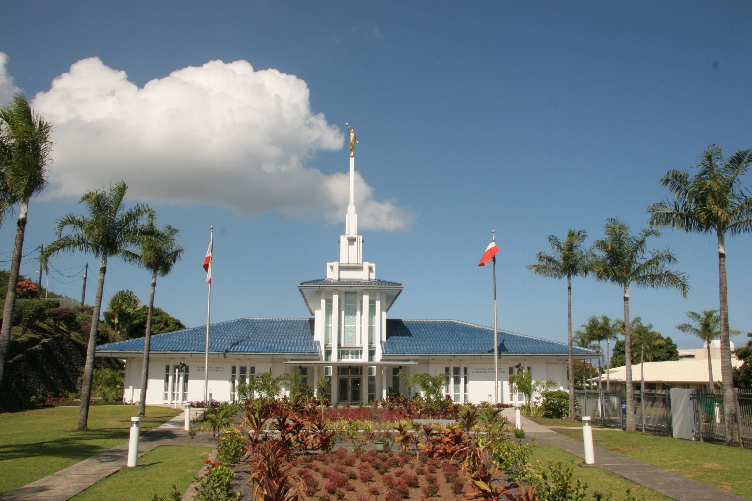 Papeete temple, rededicated Nov. 12