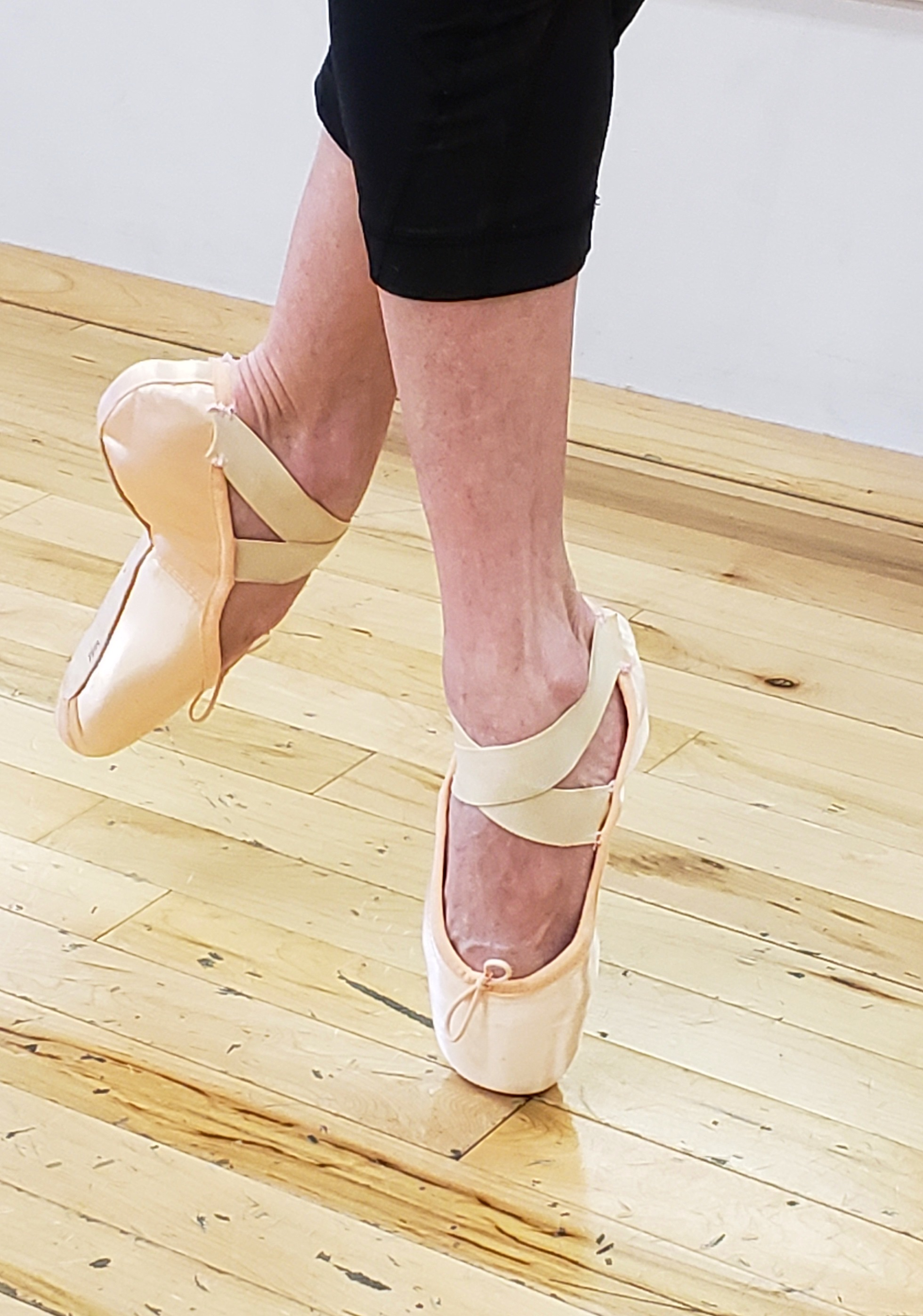 Sara Webb Bardo - though recently retired after 21 years at the Houston Ballet now teaches ballet to a new generation.