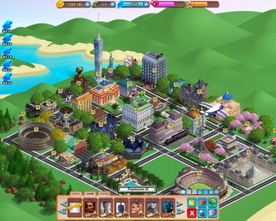 Family Village is a Facebook game that lets you build your own town populated by your family. As your village grows, the program works behind the scenes to find real documents about your heritage.