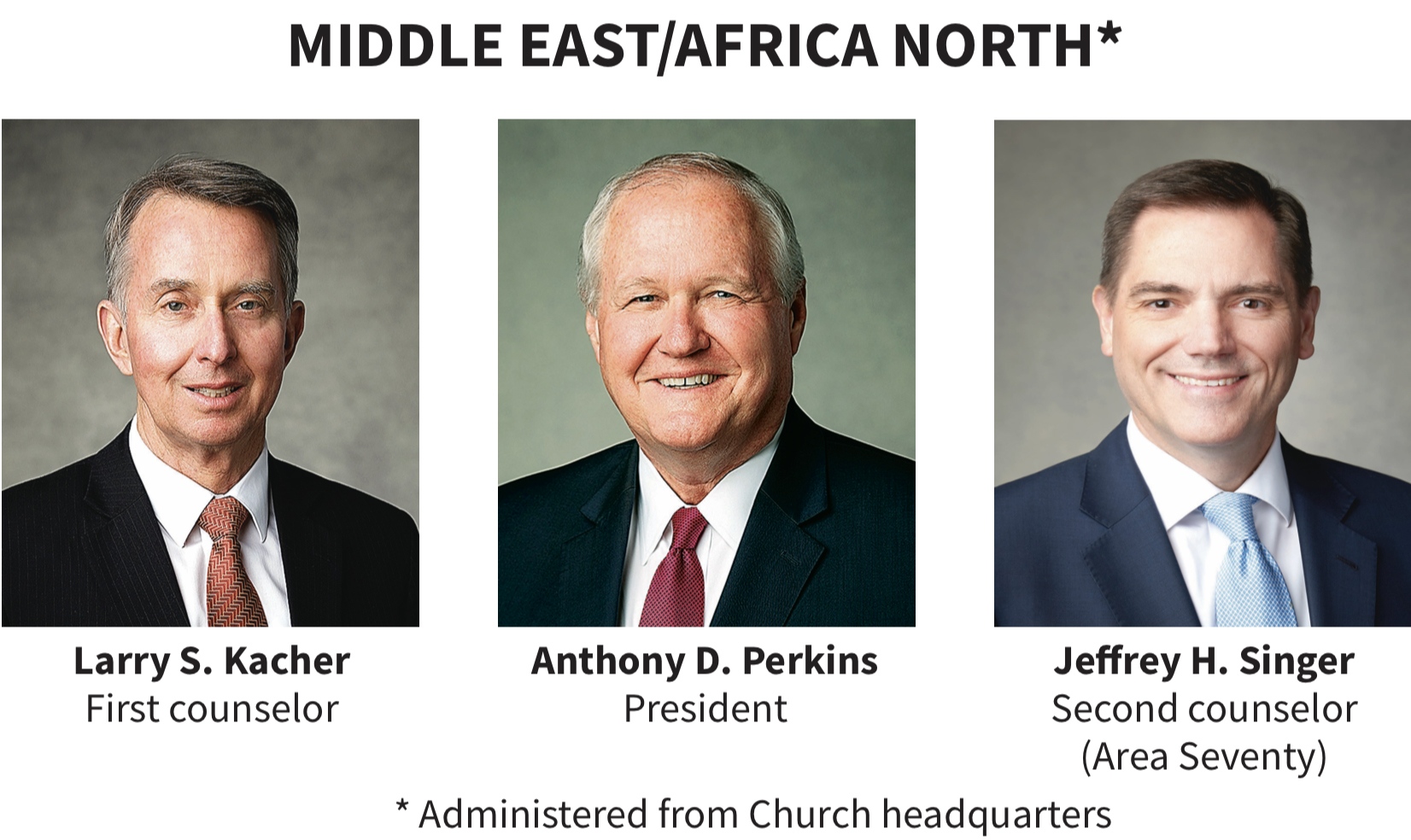 Middle East/Africa North area presidency