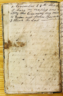 Clicking on the document image allows zooming in for detailed exploration of the manuscript and examination of the handwriting. The detail is amazing and informative.