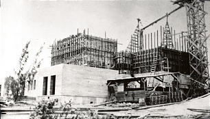 President Joseph F. Smith selected the temple site at Laie on June 15, 1915; construction began after ground was broken on Feb. 8, 1916 and was completed on April 18, 1918.
