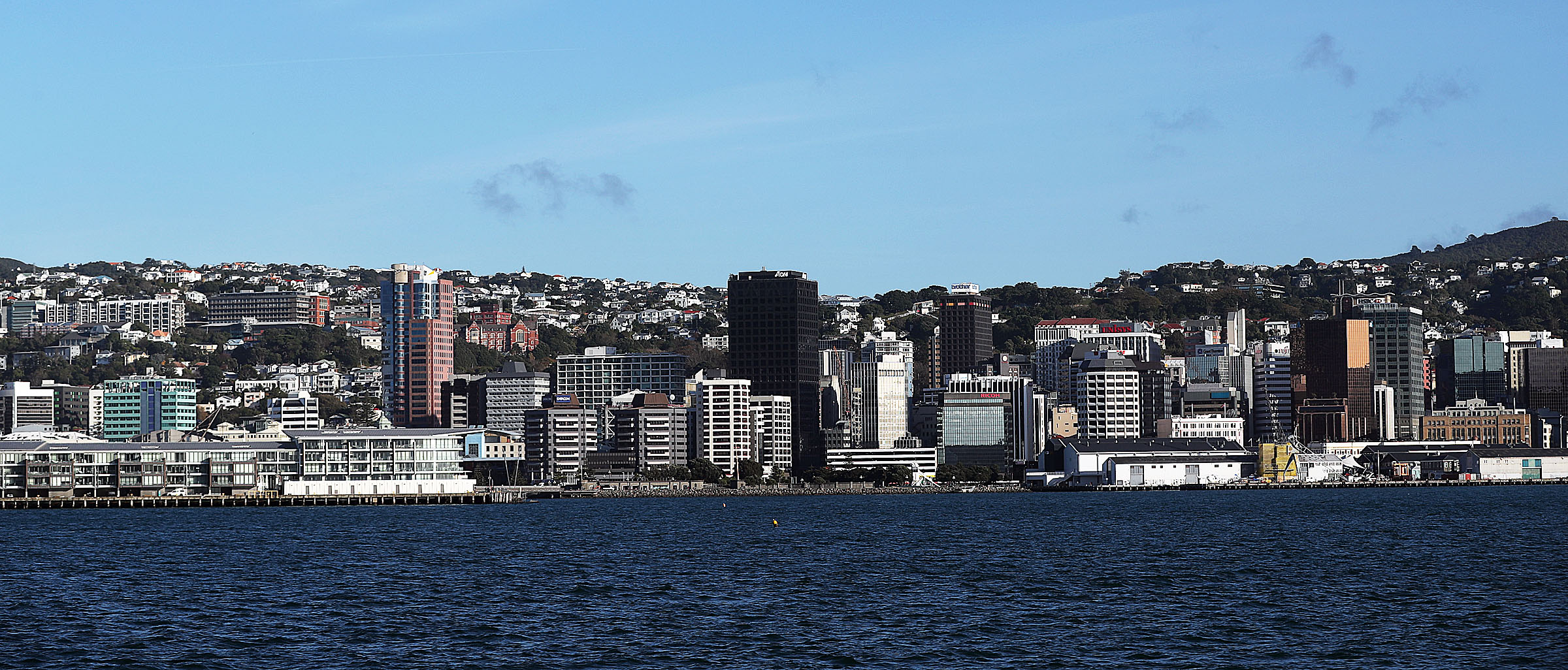 A view of Wellington, New Zealand, on Monday, May 20, 2019.
