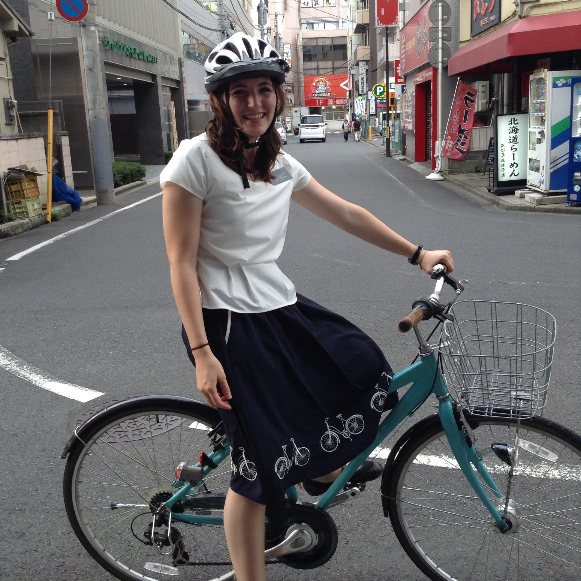 Anna Savage Hodge donned a skirt and pedaled a bicycle during her mission to Japan. Now she wears a U.S. Army officer's uniform that includes a storied Ranger Tab.