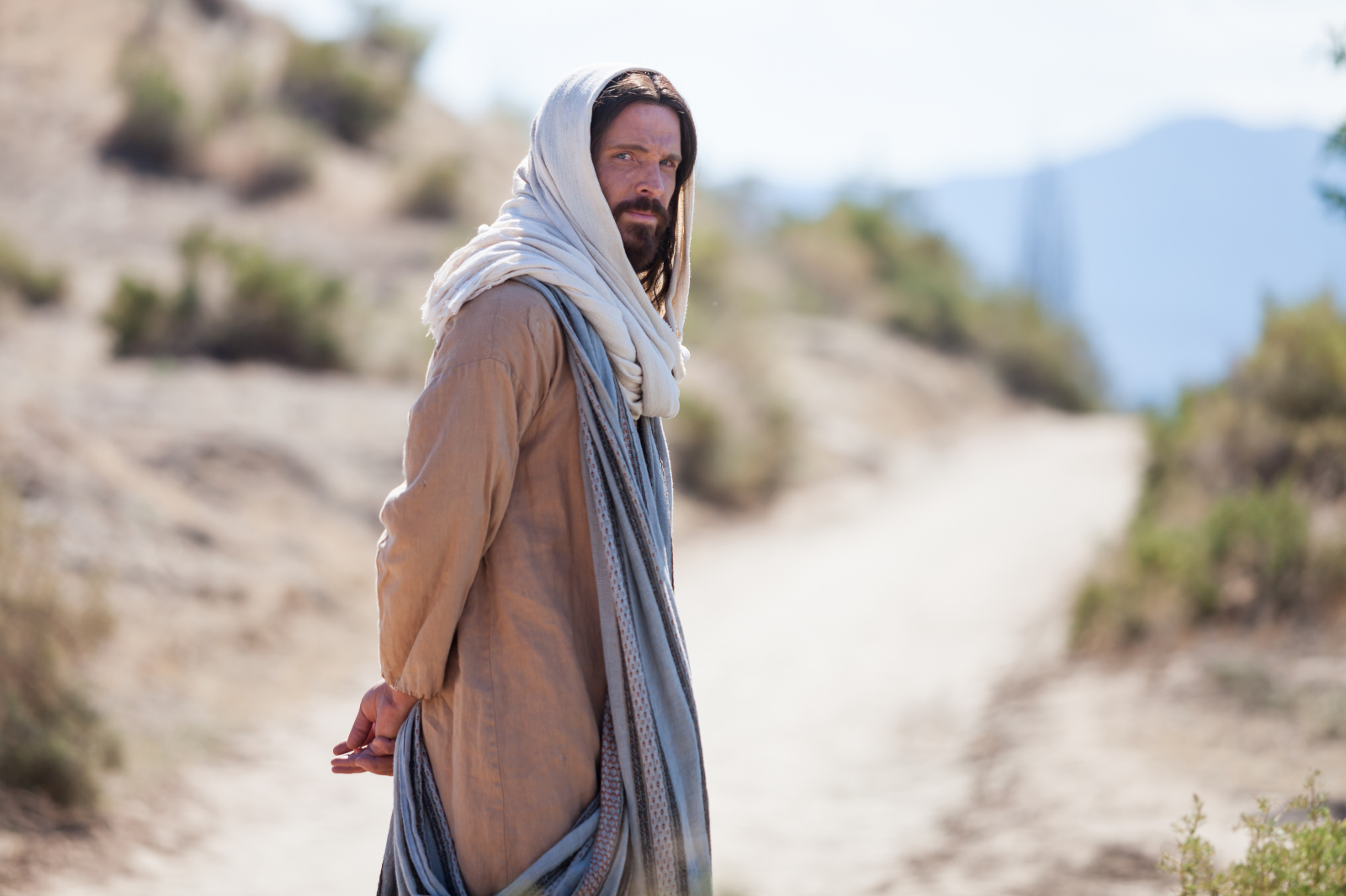 A scene from the Church's Bible videos depicts the Savior.
