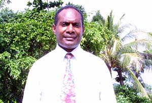 Fred Massing, Port Vila District clerk, was the first missionary from Vanuatu. He spent 24 months serving with the same companion. The pair baptized more than 40 people, including parents and siblings in each of their families.