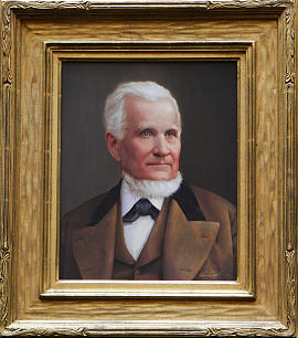 A portrait of John Taylor by Ken Corbett was presented to the House of Representatives at the Capitol in Salt Lake City, Monday, Feb. 4.