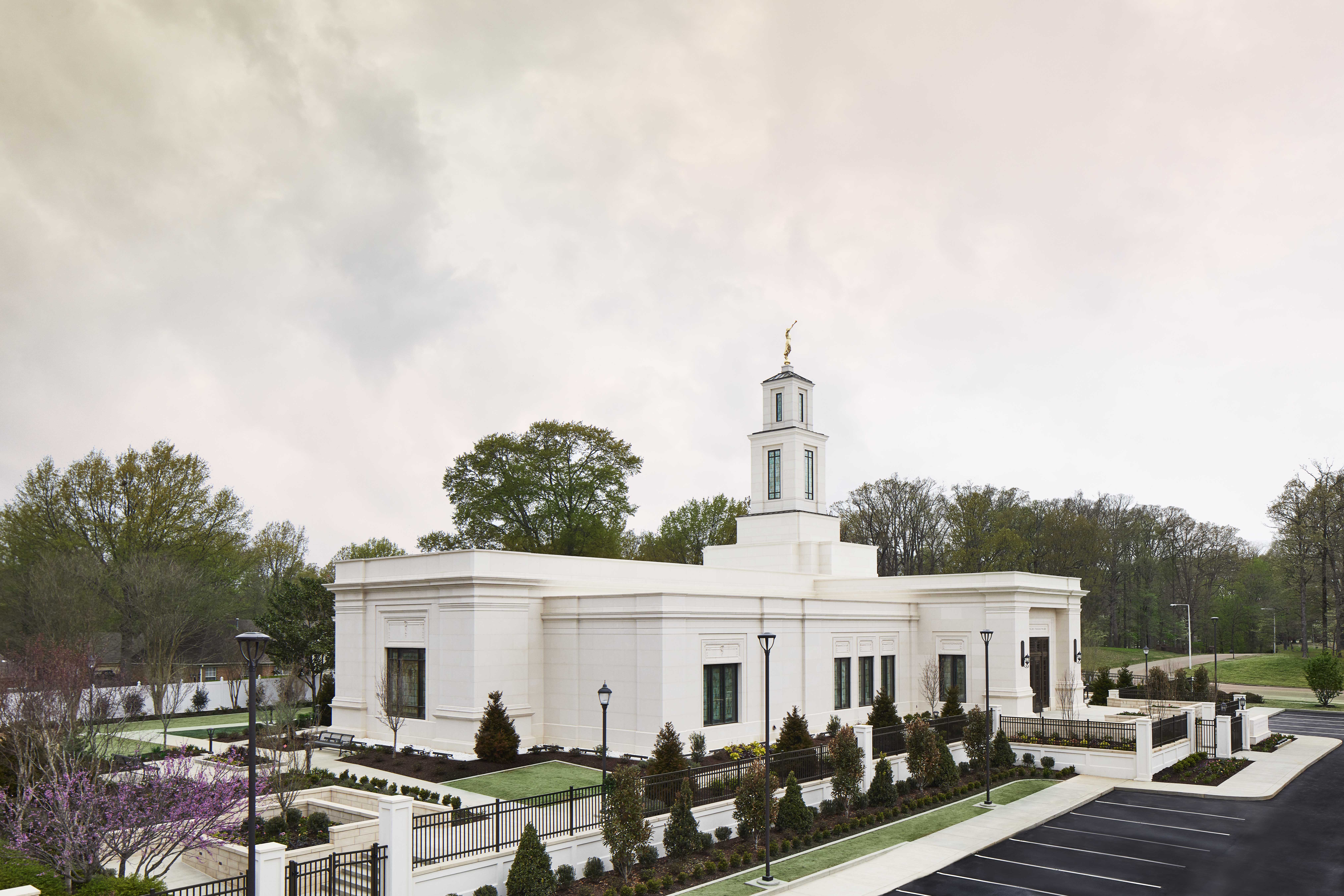 The Memphis Tennessee Temple.