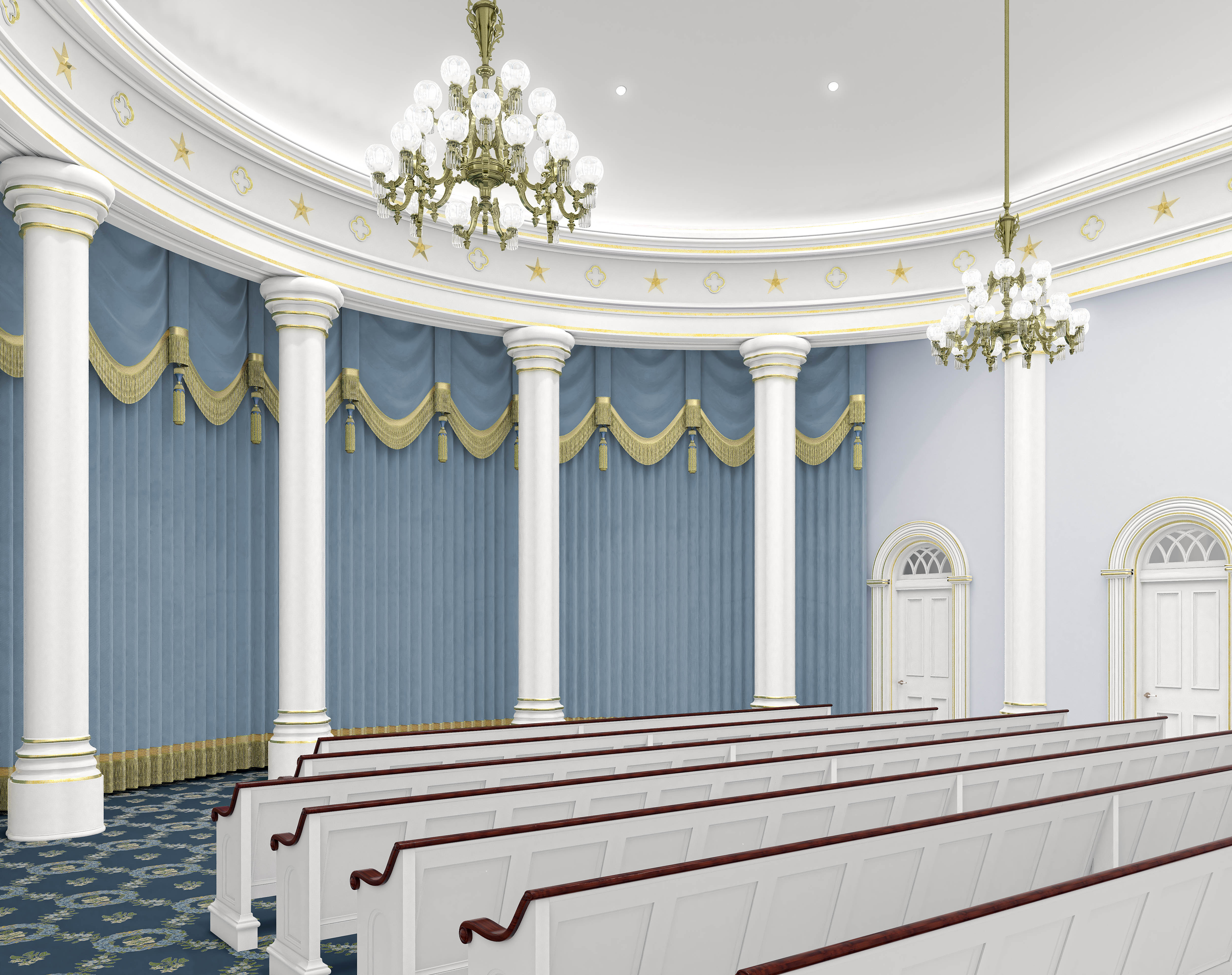 St  George Utah Temple renovation plans, renderings