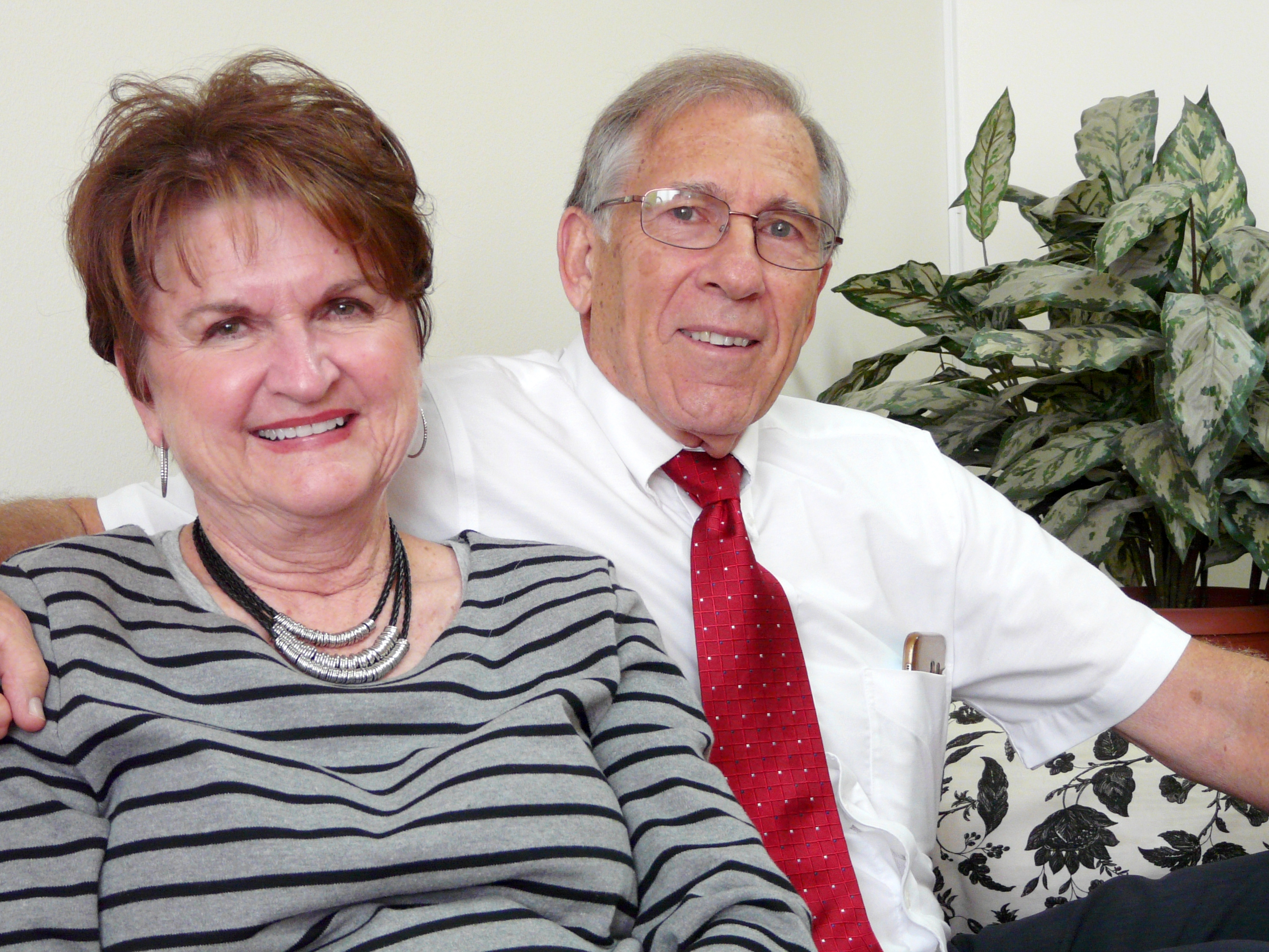 Sister Jan Lynch and Elder Morgan Lynch are serving for the fourth time as office couple in Sofia, Bulgaria.