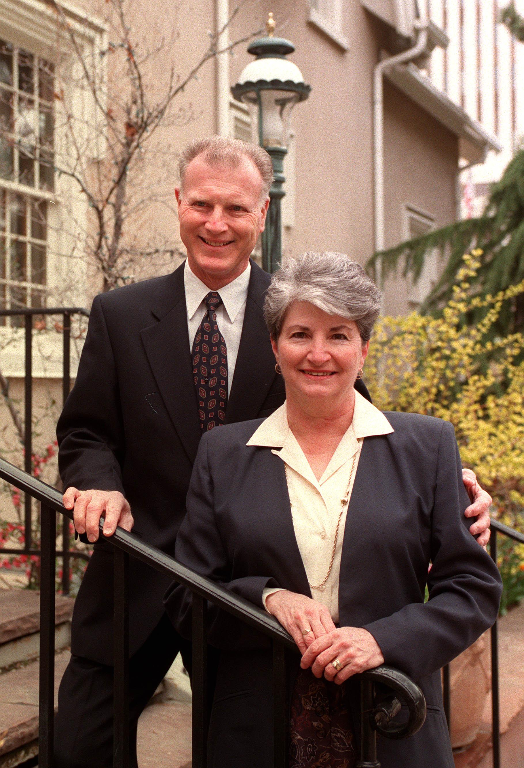 Elder H. Bruce Stucki and his wife, Sister Cheryl Stucki, in 1999.