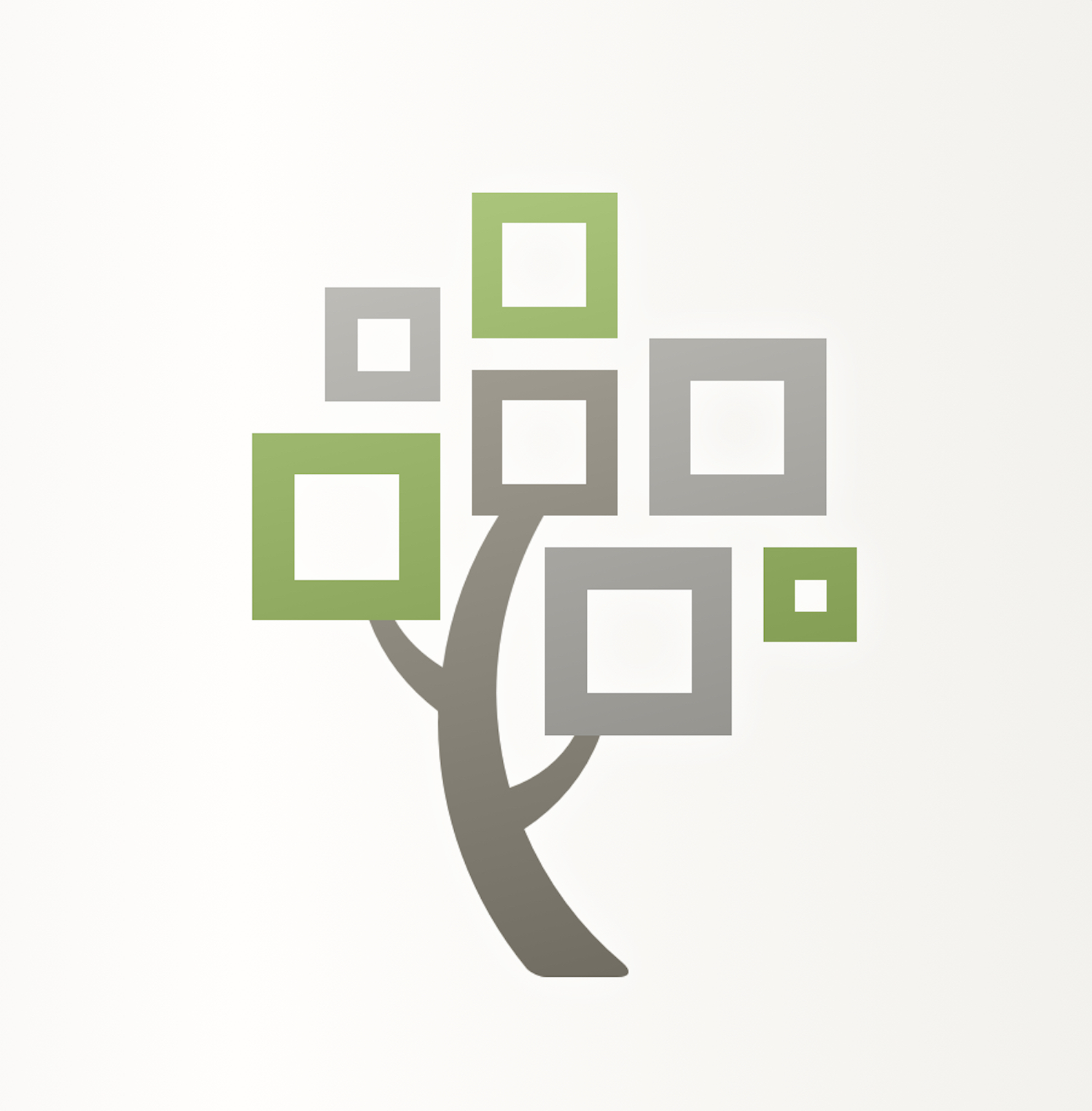 The logo for the FamilySearch Tree mobile app.