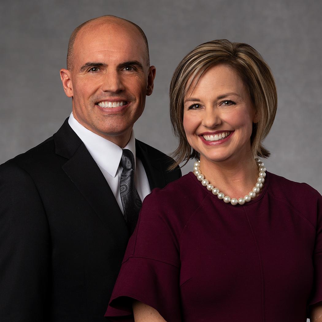 Brett and Amy Horsley