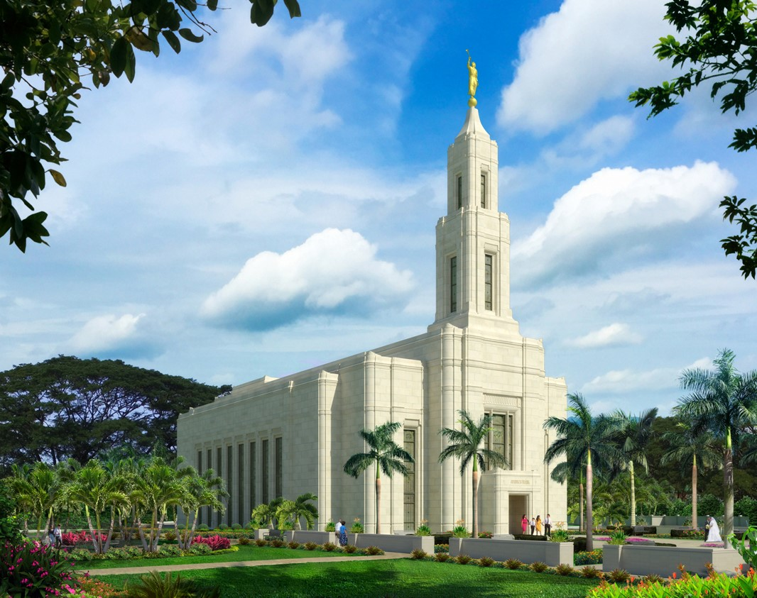 Rendering of the Urdaneta Philippines Temple.