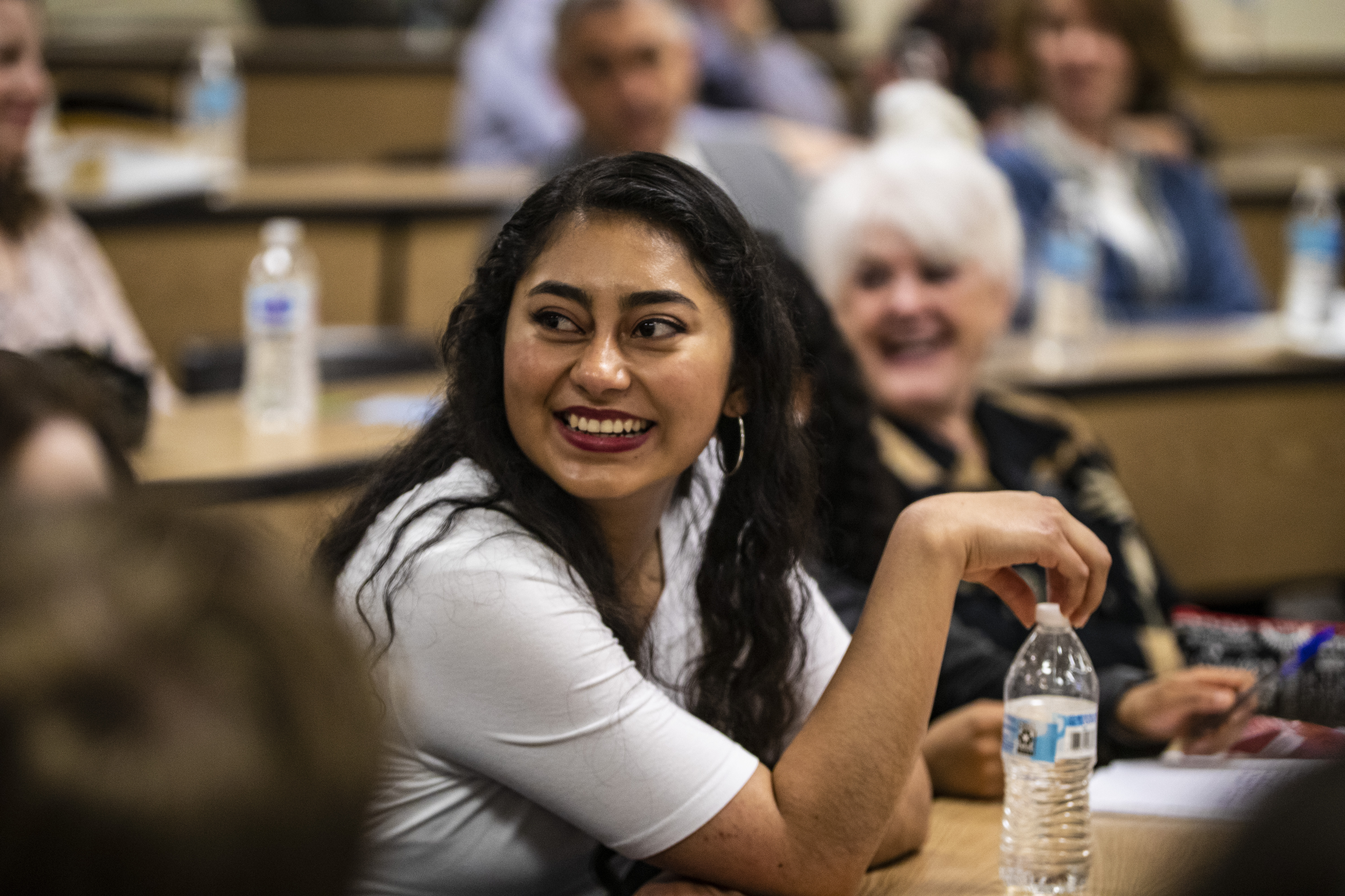 Adriana Morales Rios enjoys historic YSA conference on May 4, 2019, at the United States Military Academy in West Point, New York.
