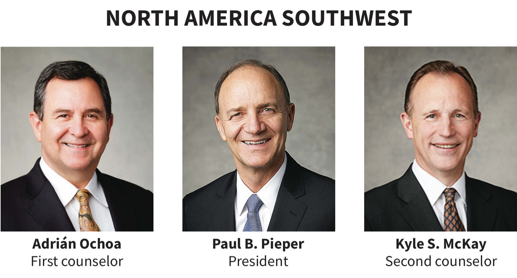North America Southwest area presidency
