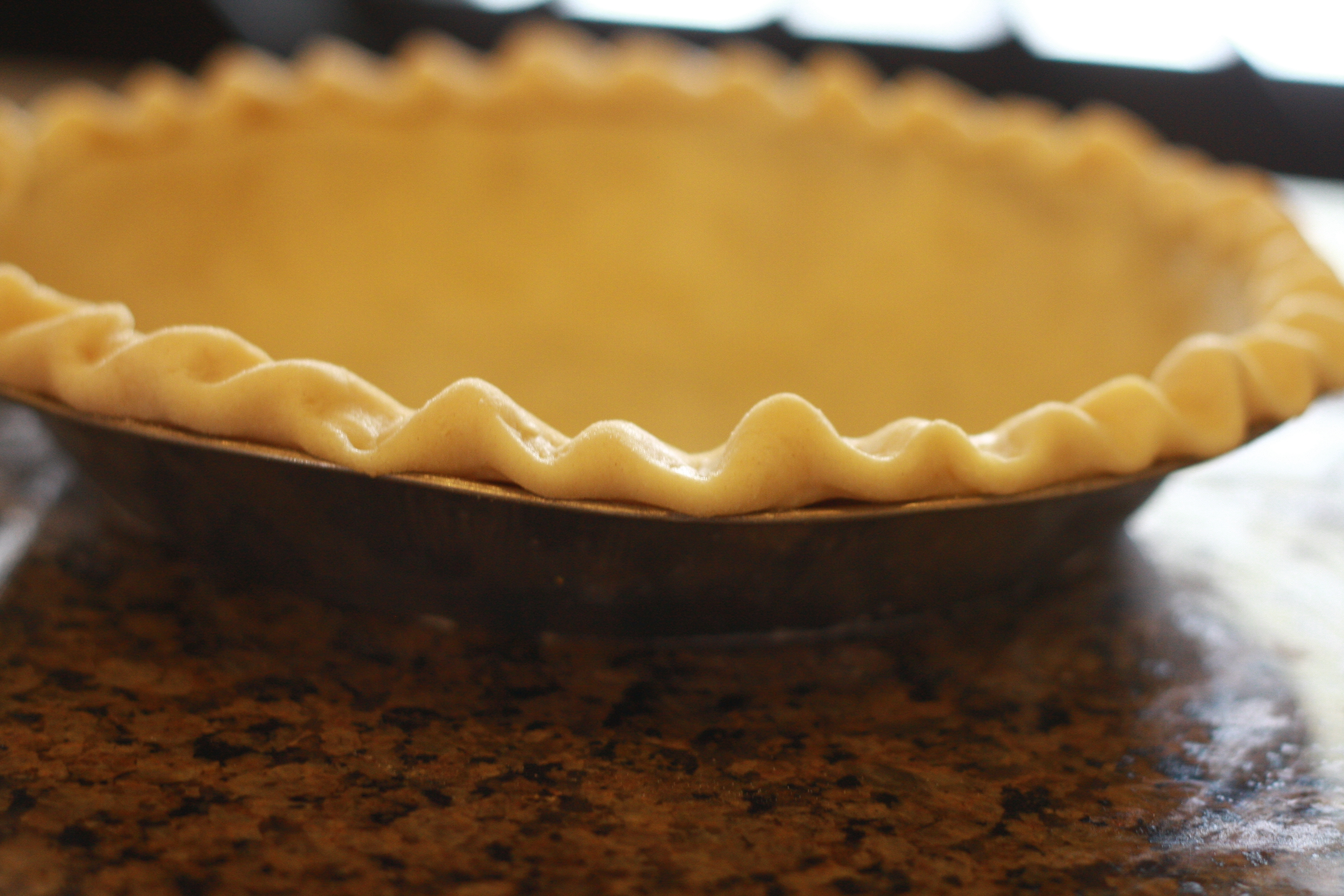 Crimping the pie crust for decoration keeps the filling in place. This year, National Pie Day fell on Jan. 23, 2019.
