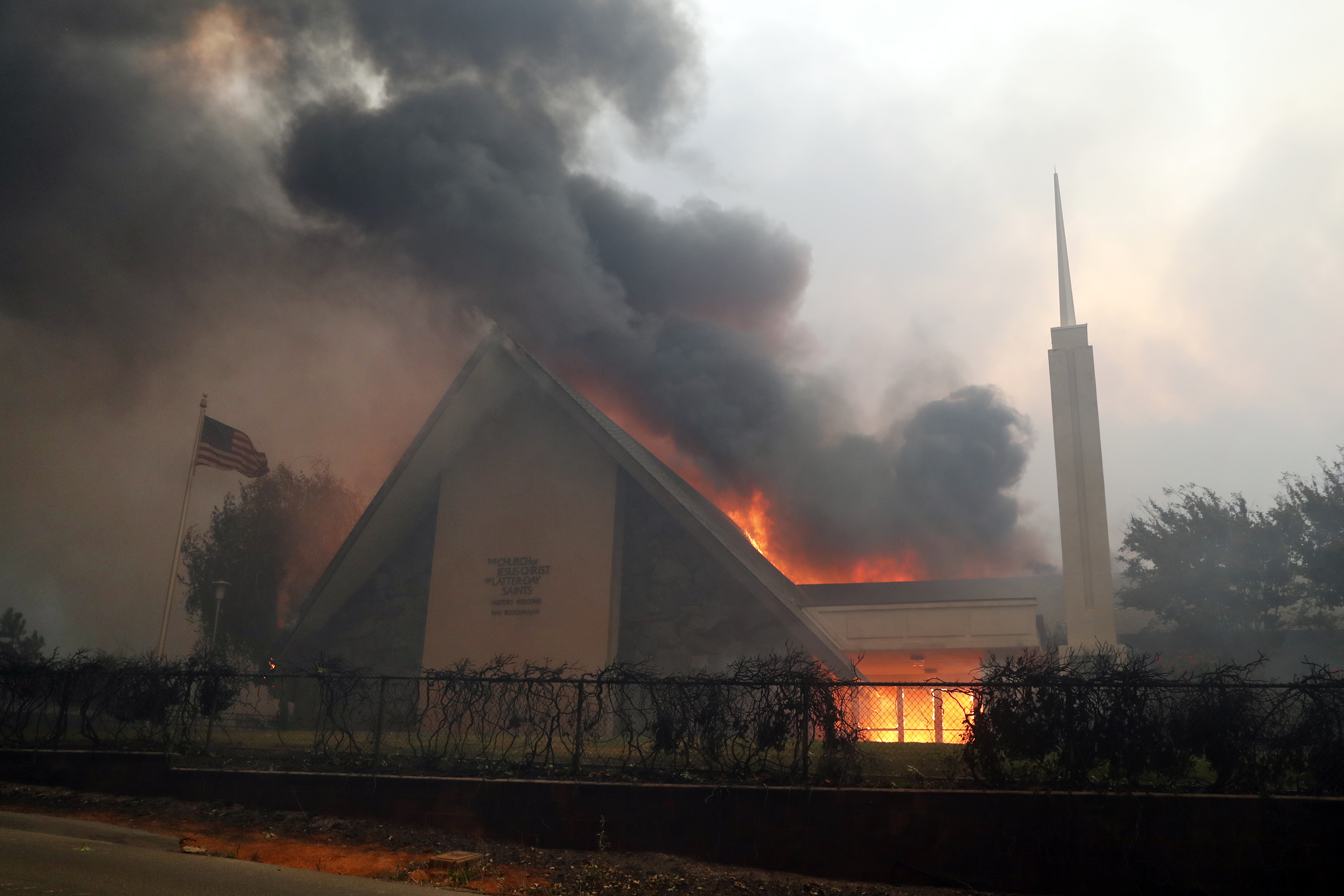 Paradise Camp Fire hits Latter-day Saint families hard