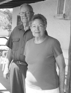 St. David Arizona Stake Patriarch Neil Carruthers and his wife, Marguerite Fenn Carruthers, moved to Pomerene, her hometown, in 1981.