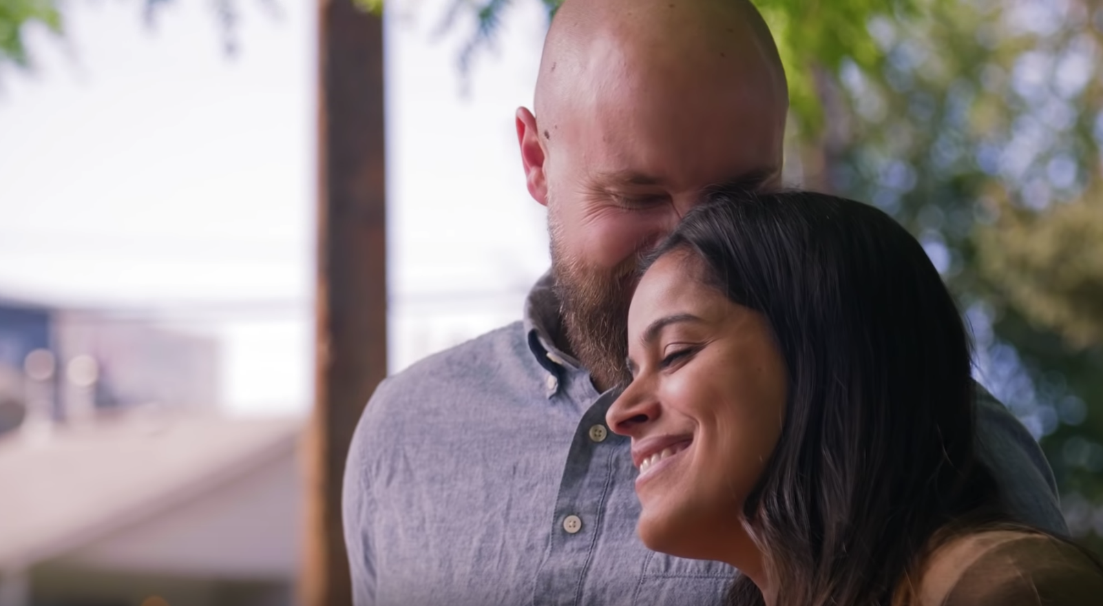 Screenshot of Mormon Channel video that features the story of Brandon and Rebecca. The couple shared their experiences about when Brandon lost his faith in the Church and how they worked through it.