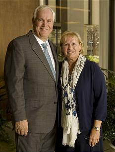Elder Robert C. Gay and Sister Lynette N. Gay have devoted much of their lives in serving others through humanitarian efforts.
