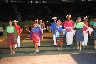Images from the Aug. 20, 2011, cultural event in San Salvador, El Salvador.