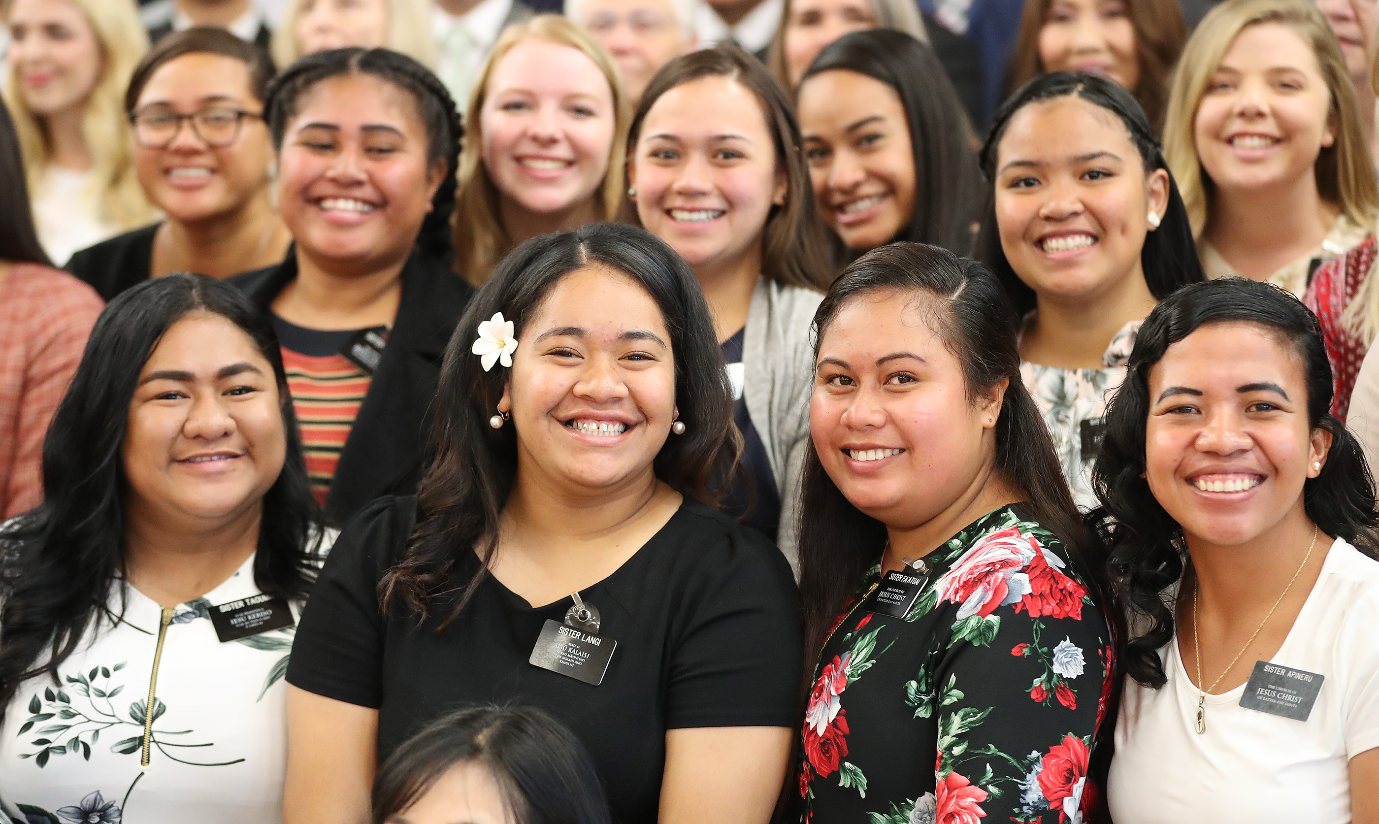 Missionaries in Auckland, New Zealand on Tuesday, May 21, 2019.