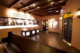 Exhibit tells the story of the history of the LDS Church in Mexico at the Mexico City Temple Visitors Center.