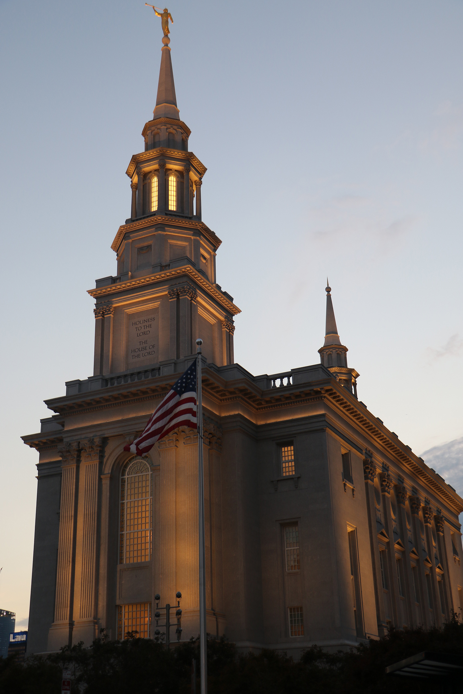 President Henry B. Eyring, first counselor in the First Presidency, dedicated the Philadelphia Pennsylvania Temple on Sept. 18, 2016 — the weekend anniversary of the Sept. 17, 1787, signing of the U.S. Constitution.