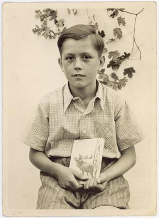 Dieter F. Uchtdorf is photographed as a young boy.